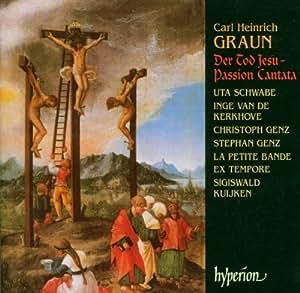 Der Tod Jesu Passion Cantata