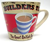 Martin Wiscombe Stoneware Builders Tea Mug, Assorted