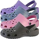 Unisex Womens Mens Classic Beach Shoe Clogs Shower Mules Slip On Mules UK 7 - 12