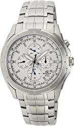 Casio Edifice White Dial Mens Watch - EF-328D-7AVDF (ED376)