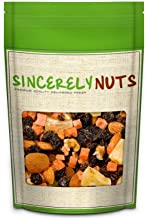 Sincerely Nuts Deluxe Trail Mix 2 Lb - Includes Raisins Pineapple Papaya Almonds Apricots Walnuts Ca