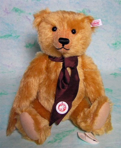 Steiff Mohair British Collectors Bear 2008 - EAN 662966