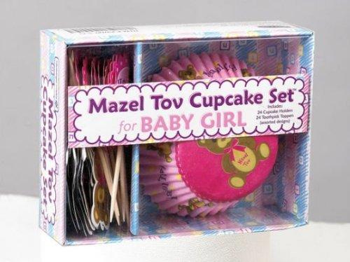 Rite Lite KWMT-5-G Mazel Tov Girl Cupcake Set
