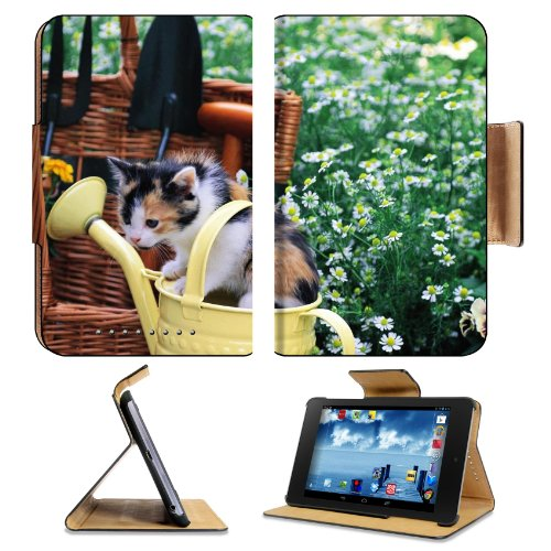 Kitten Watering Can Spotted Sitting Toddler Google Nexus 7 Flip Case Stand Magnetic Cover Open Ports Customized Made To Order Support Ready Premium Deluxe Pu Leather 7 7/8 Inch (200Mm) X 5 Inch (127Mm) X 11/16 Inch (17Mm) Liil Nexus 7 Professional Nexus7 front-910058