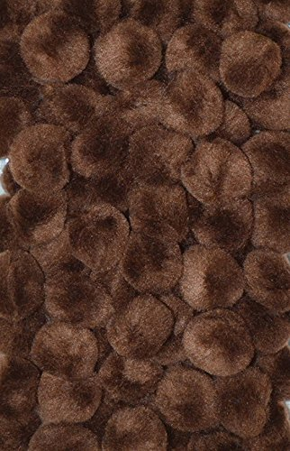 "Creativity Street Pom Pons 100-Piece x 1/2"" Brown"