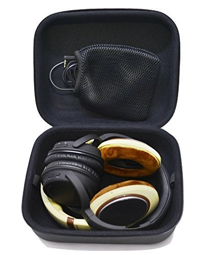 6aceb78fe8a Nbbox Headphones Full Size Hard Shell Large Carrying Case   Headset Travel  Bag with Space for