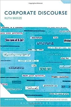 Corporate Discourse (Bloomsbury Discourse)