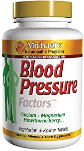 Michael's Health Products - Blood Pressure Factors, 90 tablets