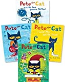 img - for Pete the Cat Paperback Book Set: Includes 4 Books:   I Love My White Shoes   Pete the Cat and His Four Groovy Buttons   Pete the Cat Saves Christmas   Rocking in My School Shoes book / textbook / text book