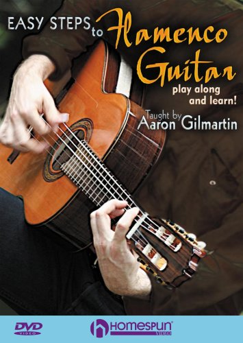 Aaron Gilmartin: Easy Steps to Flamenco Guitar [DVD] [2007] [NTSC]