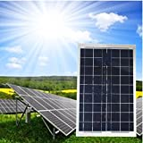 Mohoo 30W 12V Monokristalline Solarpanel Energie Semi Flexible Wasserdicht Ladegerät