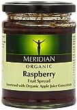 Meridian Organic Raspberry Fruit Spread 284 g (Pack of 6)