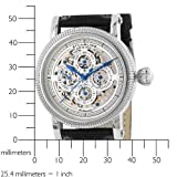Stuhrling Original Men's 150A.33152 Special Reserve 'Symphony Maestro II' Multi-Function Skeleton Watch
