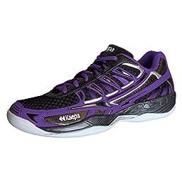 Kaepa Women\'s Heat Volleyball Shoes, Purple, 8