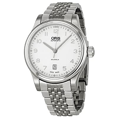 Oris Classic Date Automatic Silver Dial Steel Mens Watch 01 733 7594 4091 07 8 20 61