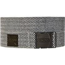 Arcade Hemingway Belt Black/Grey Herringbone, One Size