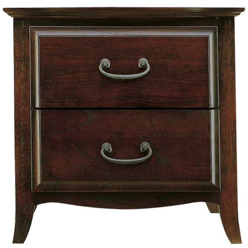 Modus Furniture Santa Barbara 2 Drawer Nightstand