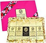 Voted Best Coffee Gift, Kona Hawaiian Gourmet Coffee Gift, For Easter, Mothers Day, Birthday, All Occasions, Ground Coffee, Brews 60 Cups