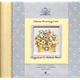 Debbie Mumm's Spring Bouquet Deluxe Greeting Card Organizer & Address Book