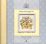 Debbie Mumm's Spring Bouquet Deluxe Greeting Card Organizer & Address Book
