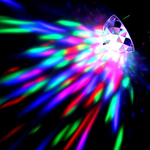 Origlam® Rgb Led 3W Crystal Magic Ball Stage Light Strope Effect For Disco Club Bar Party Pub Auto Rotation Version With Tripod
