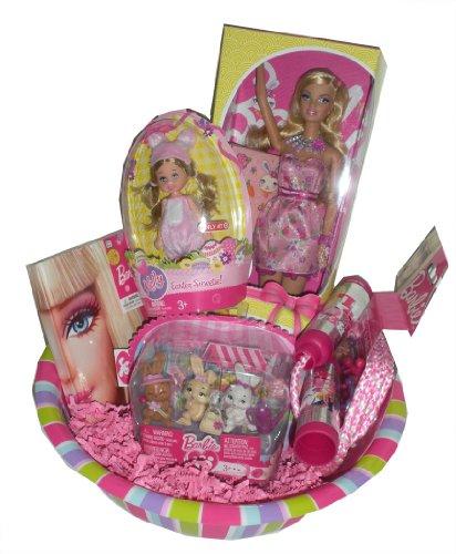 Easter Barbie, Barbie Kelly & Barbie Bunnies Ultimate Gift Basket - Easter Basket