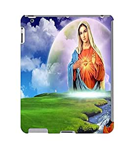 Fuson 3D Printed Lord Mother Merry Designer Back Case Cover for Apple iPad Air 2 - D536
