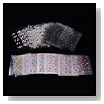 New 50 Sheets 3D Design Nail Art Sticker Tip Decal Manicure