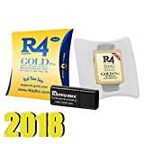 [ NEW 2018 ] Micro SD SDHC Memory Adapter Card for DS, DSI, 2DS, 3DS, Ndsi , Ndsl, Nds, US (Gold) (Color: Gold)