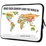 """Snoogg Laptop Netbook Computer Tablet PC Shoulder Case Carrying Sleeve Bag Pouch Cover Protector Holder For Apple IPad/ Hp Touchpad Mini 210 T100 Hp Touchpad Mini T100ta/Acer Aspire One/Lenovo Ideatab S6000 /Lenovo Yoga 10 HD+ And Most 9.7"""" 10"""""""