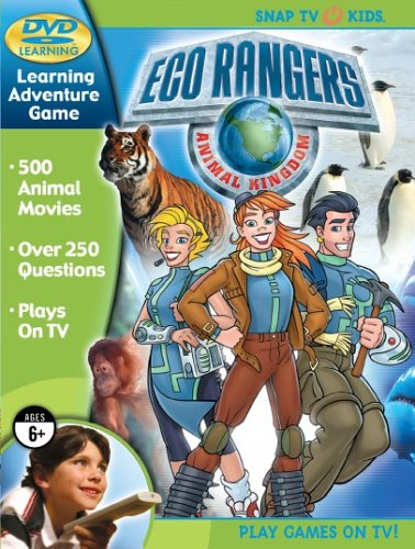 Eco Rangers DVD Animal Kingdom Learning Game - 1