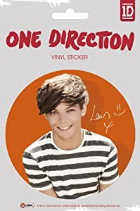 Official One Direction 1d Large Vinyl Sticker - Louis Color by Global Merchandising