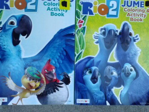 Rio 2 Jumbo Coloring & Activity Book (96 Pages) Assorted, Designs Vary - 1