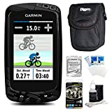 Garmin Edge 810 Cycling Computer GPS Device with Case and Warranty Bundle - Includes GPS, Ultra-Compact Carrying Case, Three Year Additional Warranty Certificate, White Audio Earbuds with Microphone, LCD Screen Protectors, and 3pc. Lens Cleaning Kit Garmin