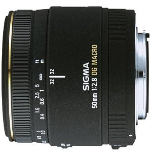 Sigma 50mm f/2.8 EX DG Macro Lens for Canon SLR Cameras