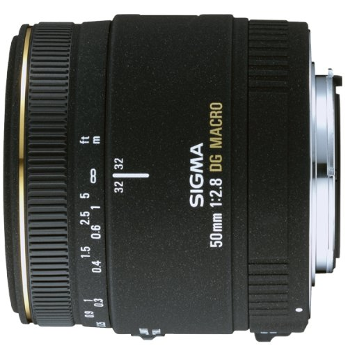Sigma 50mm f/2.8 EX DG Macro Lens Canon Fit