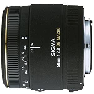 Sigma 50mm f/2.8 EX DG Macro Lens for Canon SLR Cameras (Discontinued by Manufacturer)