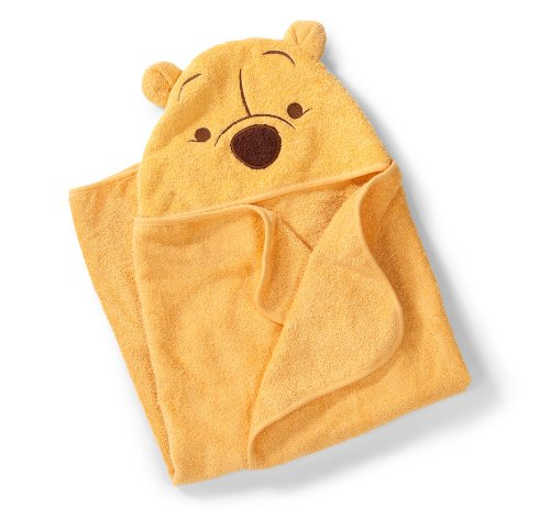 Summer Infant 100% Cotton Winnie the Pooh Hooded Towel