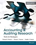 img - for Accounting and Auditing Research: Tools and Strategies by Thomas R. Weirich (2013-09-23) book / textbook / text book