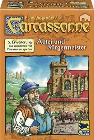 """Hans im Gluck - 48177 - Jeu de société """"Carcassonne : Maire et Cloîtres"""" - Langue allemande"""