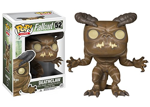 Funko POP Games: Fallout - Deathclaw Action Figure  funko pop star wars boba fett 08 pvc action figure collectible model toy 12cm fkfg126 retail box sp050
