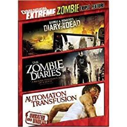 Dimension Extreme Zombie Triple Feature (Diary of the Dead / Zombie Diaries / Automaton Transfusion)