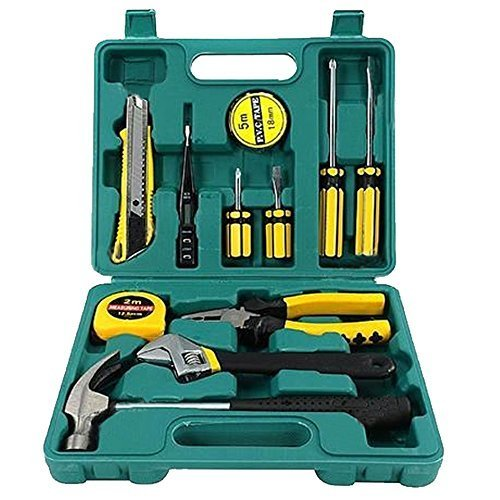 tipsc-tech-professional-12-pcs-tool-set-basic-hand-carry-tool-box-kit-fix-repair-home-packaging