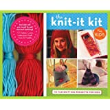 Knit-it Kit for Kids: 10 Fun Beginning Knitting Projects (Get Crafty)