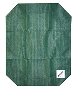 Coolaroo Elevated Pet Bed Replacement Cover, Small, Green