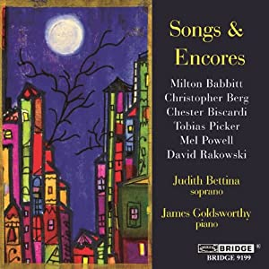 Songs & Encores: Recital of American Song