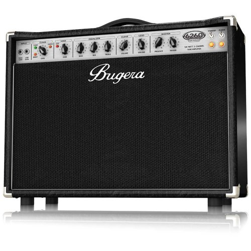 Bugera 6260-212-Infinium Ultimate Rock Tone 120-Watt 2-Channel Valve Combo With Reverb And Infinium Valve Life Multiplier
