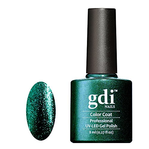 r22-dark-green-fine-glitter-gel-polish-gdi-nails-emerald-empress-a-dark-emerald-green-shade-professi