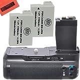 Battery Grip Kit for Canon Rebel T2i T3i T4i T5i Digital SLR Camera Includes Qty 2 Replacement LP-E8 Batteries + Vertical Battery Grip + More!!