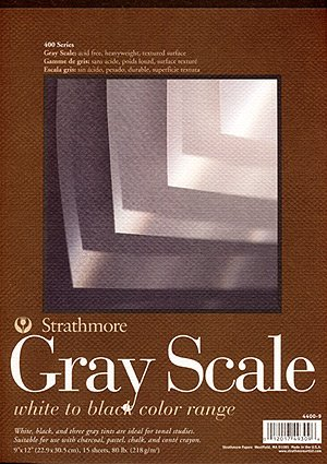 Strathmore Gray Scale Pad 9 in. x 12 in.
